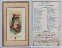 N107 Duke, Fancy Dress Ball Costumes, 1889, The Watermelon, Rose Coghlan