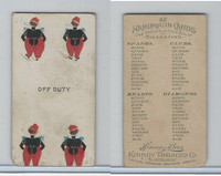 N219 Kinney, Harlequin Cards, 1888, Club 4