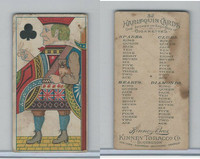 N219 Kinney, Harlequin Cards, 1888, Club Jack