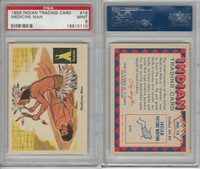 1959 Fleer, Indian Trading, #15 Medicine Man, PSA 9 Mint