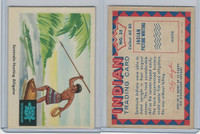 1959 Fleer, Indian Trading, #35 Seminole Hunting Alligator