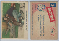 1959 Fleer, The 3 Stooges, #25 Next Time We'll Take The Elevator!