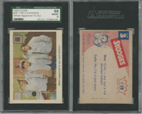1959 Fleer, The 3 Stooges, #28 What Happened To Our, SGC 88 NMMT