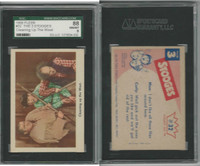 1959 Fleer, The 3 Stooges, #32 Cleaning Up The West, SGC 88 NMMT
