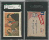 1959 Fleer, The 3 Stooges, #36 Get Your Nose Out Of My Business!, SGC 88 NMMT