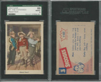 1959 Fleer, The 3 Stooges, #41 About Face!, SGC 88 NMMT