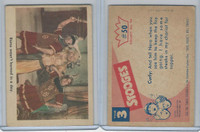 1959 Fleer, The 3 Stooges, #50 Rome Wasn't Burned In A Day
