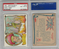 1961 Fleer, Pirates Bold, #13 Juan Delacorte 1575-1598, PSA 8 NMMT