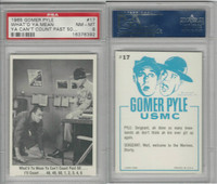 1965 Fleer, Gomer Pyle, #17 What'd Ya Mean Ya Can't Count, PSA 8 NMMT