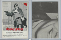 1965 Fleer, Hogan's Heroes, #22 Schultz, Next Time You Need Money, Come