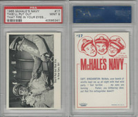 1965 Fleer, McHale's Navy, #17 This'll Put Out That Fire, PSA 9 Mint