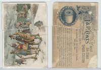 H426 J&P Coats, Historical Scenes, 1890's, The Landing Of Pilgrim (Torn)
