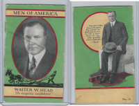 H572 Newspapers, Men of America, 1928, #51 Walter W. Head
