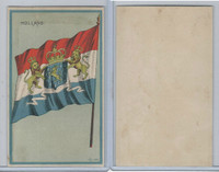H626, Blank Back, National Flags, 1909, Holland