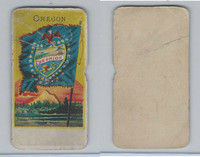H629 Blank Back, State Flags, 1890's, Oregon