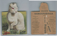 H679-1, Hoods Sarsaparilla, Animal Statuettes, 1897, Rabbitt