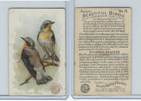J2, Church & Dwight, Beautiful Birds New Series, 1896, #19 Stone-chatter
