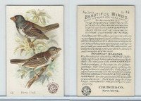 J2, Church & Dwight, Beautiful Birds New Series, 1896, #48 Harris Finch