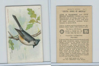 J9-3, Church & Dwight, Useful Birds America 7th Ser., 1925, #3 Tufted Titmouse