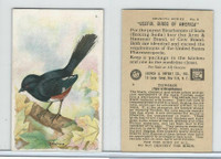 J9-3, Church & Dwight, Useful Birds America 7th Ser., 1925, #6 Towhee