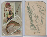 N108 Duke, Fishes & Fishing, 1888, Speckled Trout/Pipe Fish