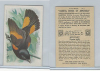 J9-5, Church & Dwight, Useful Birds America 9th Ser., 1925, #1 Redstart