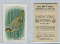 J9-5, Church & Dwight, Useful Birds America 9th Ser., 1925, #2 Yellow-throat