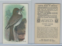 J9-5, Church & Dwight, Useful Birds America 9th Ser., 1925, #3 Phoebe