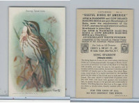 J9-5, Church & Dwight, Useful Birds America 9th Ser., 1925, #12 Song Sparrow