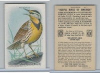 J9-6, Church & Dwight, Useful Birds America 10th Ser., 1925, #1 Meadowlark