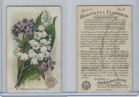 J16, Church & Dwight, Beautiful Flowers, 1895, #4 Heliotrope & Lily of Valley