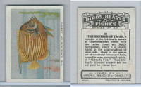 C1 Imperial Tobacco, Birds, Beasts, & Fishes, 1923, #37 Emperor of Japan