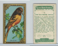 C14 Imperial Tobacco, Game Bird Series, 1910, #10 Baltimore Oriole