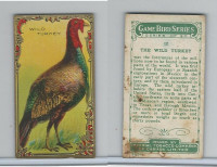 C14 Imperial Tobacco, Game Bird Series, 1910, #12 Wild Turkey
