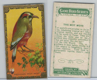 C14 Imperial Tobacco, Game Bird Series, 1910, #23 Mexican Mot Mot