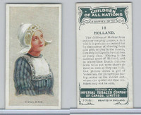 C6 Imperial Tobacco, Children Of All Nations, 1924, #18 Holland