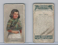 C6 Imperial Tobacco, Children Of All Nations, 1924, #21 Ireland
