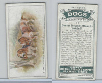 C8 Imperial Tobacco Company, Dog 2nd Series, 1920's, #17 Basset Hound