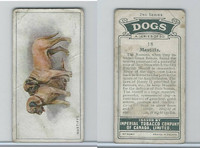C8 Imperial Tobacco Company, Dog 2nd Series, 1920's, #18 Mastiffs