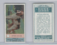 C7 Imperial Tobacco Company, Dog Series, 1920's, #4 Otter-Hound