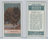 C7 Imperial Tobacco Company, Dog Series, 1920's, #5 Pomeranian