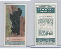 C7 Imperial Tobacco Company, Dog Series, 1920's, #15 Field Spaniel