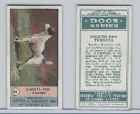 C7 Imperial Tobacco Company, Dog Series, 1920's, #20 Smooth Fox Terrier