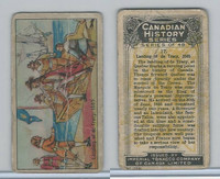 C5 Imperial Tobacco, Canadian History, 1926, #17 Landing De Tracy