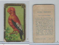 C45 Imperial Tobacco, Bird Series, 1910, #11 Cock Of The Rock