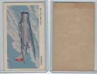 D87 Blank Back, Warplanes Of The World, 1940's, Vultee V11GB, Turkey