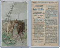 K2 Arbuckle Coffee, Subjects On Cooking, 1890, #7 Ox-Tail Soup