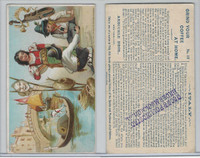 K4 Arbuckle Coffee, History Sports and Pastimes, 1890, #12 Italy