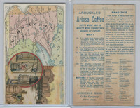 K6 Arbuckle Coffee, Illustrated Atlas of the U.S., 1890, #65 Minnesota