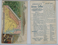 K6 Arbuckle Coffee, Illustrated Atlas of the U.S., 1890, #60 Virginia